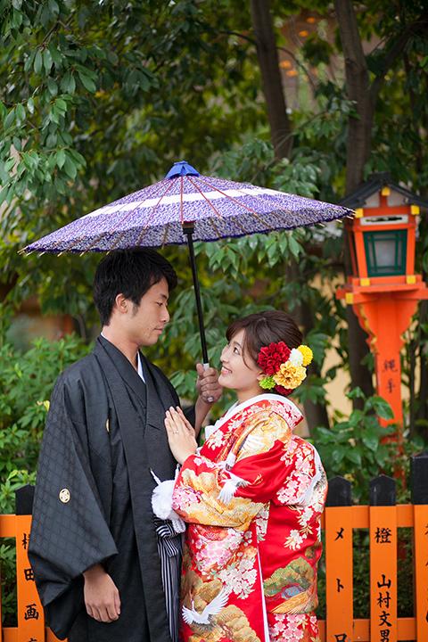 祇園 紅葉 前撮り