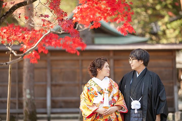 秋 今宮神社 前撮り