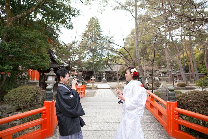 冬 前撮り 今宮神社