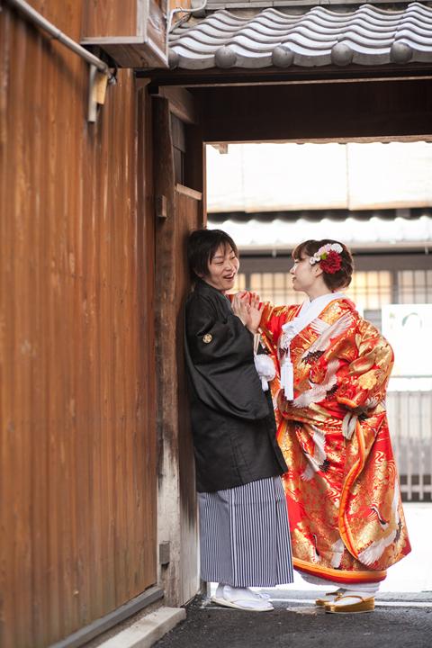京都 壁ドン