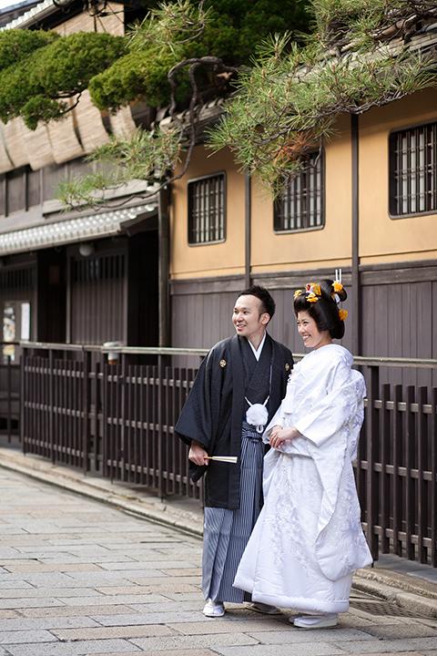 前撮り 京都 冬