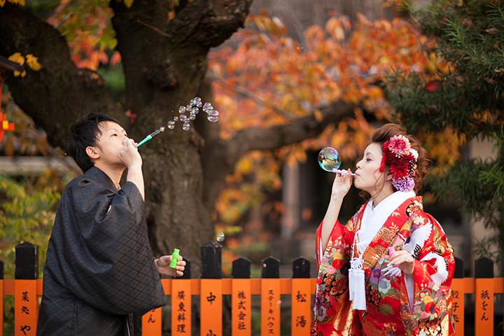 紅葉 前撮り 京都