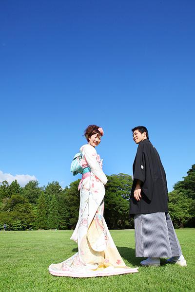 夏 前撮り 和装 京都
