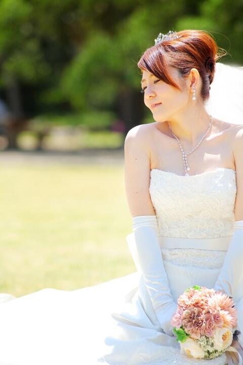 夏 前撮り 京都 ウェディングドレス