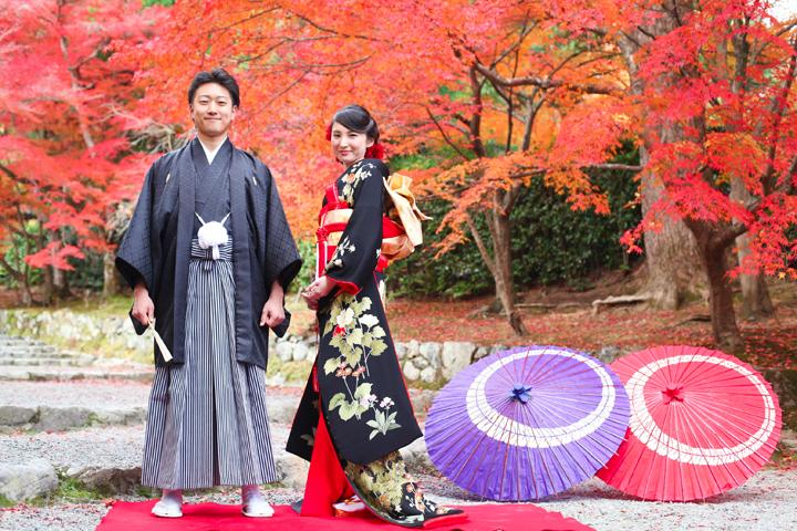 京都で和装前撮り「京都好日」|ウエディングフォ …