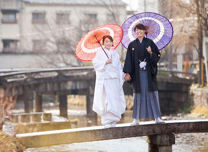 前撮り 冬 京都