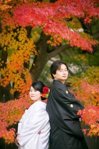 京都 前撮り 紅葉