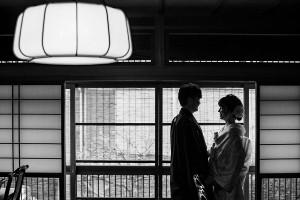 京都前撮り シルエット