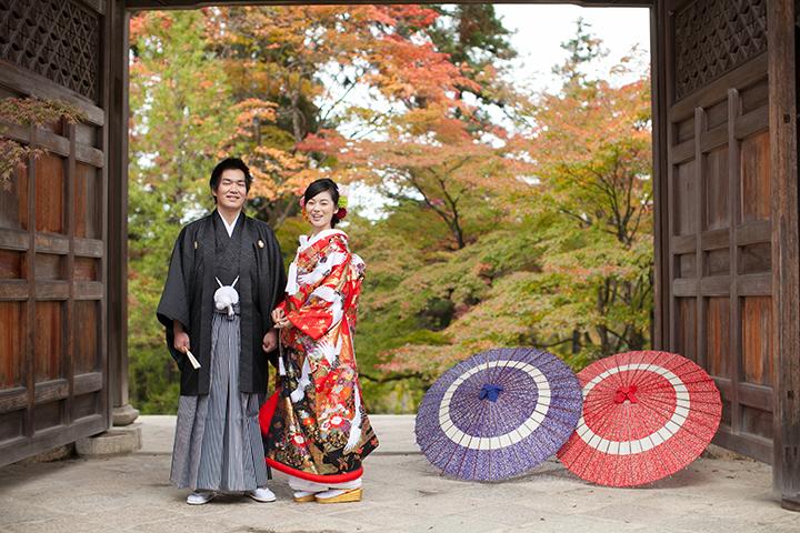 京都の和装前撮り「美翔苑」 | 婚礼ロケーション写 …