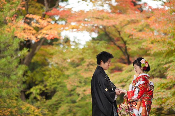紅葉特集|京都前撮り ロケーション撮影の京都好日
