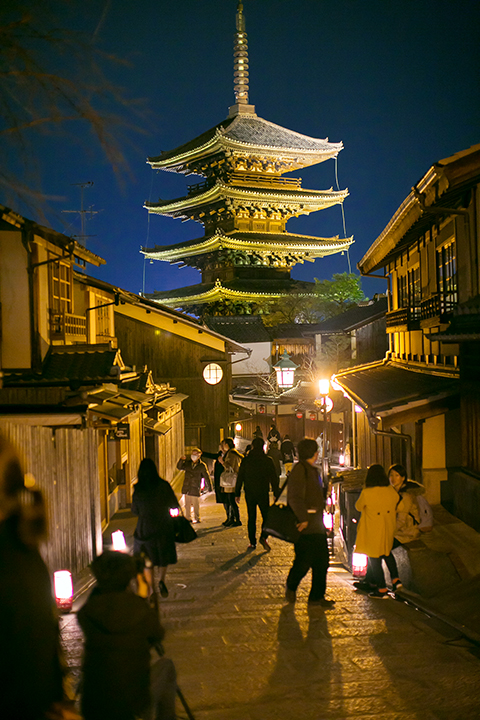 京都東山花灯路