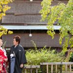10月 祇園 和装