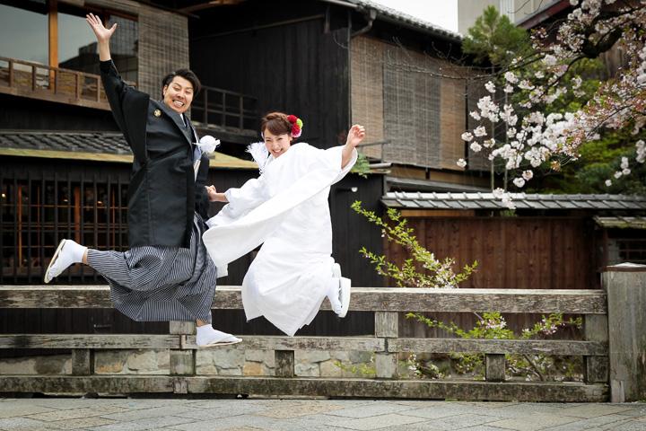 祇園 ジャンプ 前撮り
