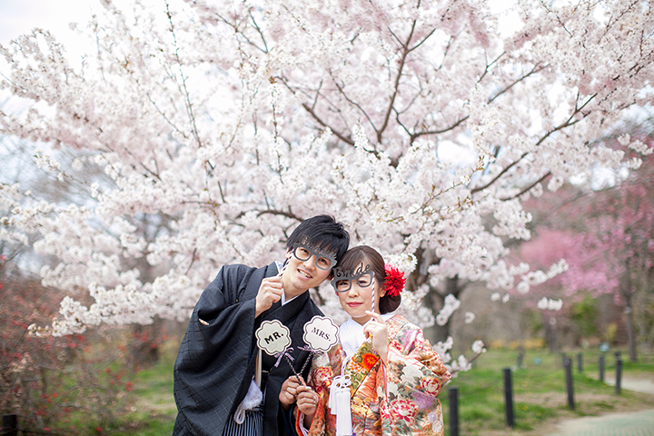 3月 桜 前撮り