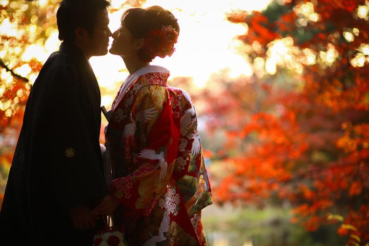 京都 前撮り 個性的 和装