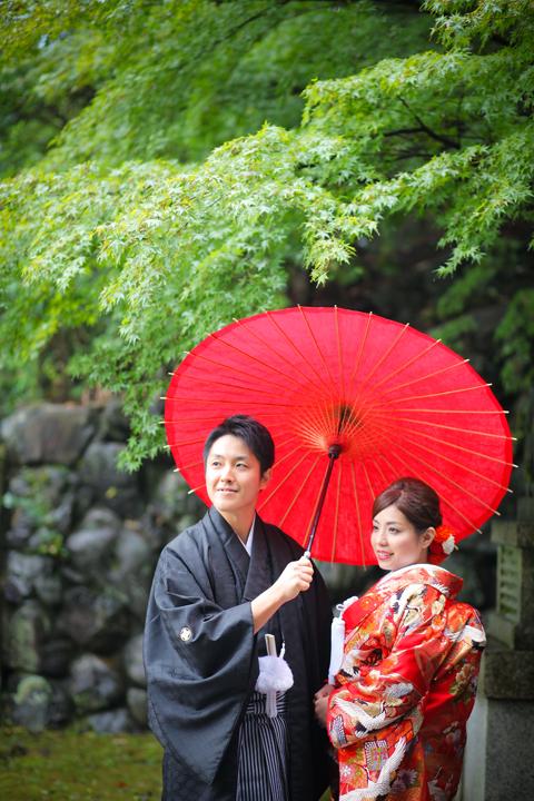今宮神社 和装 写真